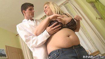 Breasty bulky beauty slim hunk hawt sex