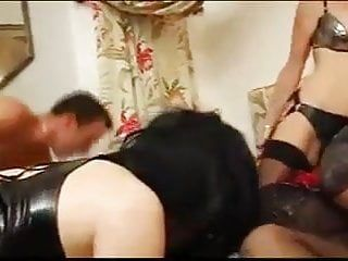 Chap and woman bonks crossdressers jointly 02