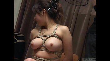 Subtitled japanese cmnf sadomasochism nose hook bird cage play
