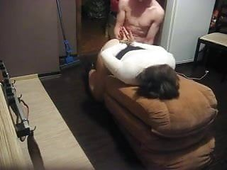 Obedient wife receives arse stuffed by her russian hubby