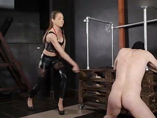Domme lucy in evil whipping