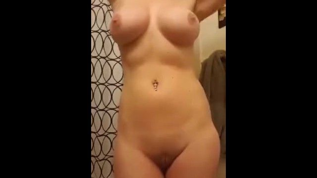 Large love bubbles aloha hotty undresses and shows off her body