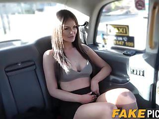 Lesbo taxi milf is hawt and concupiscent for some appealing muff