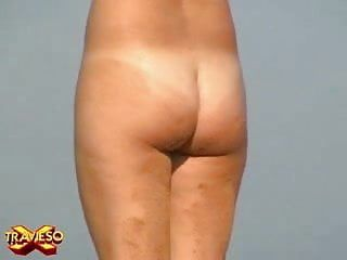 Three nudistas voyeur movie scene one