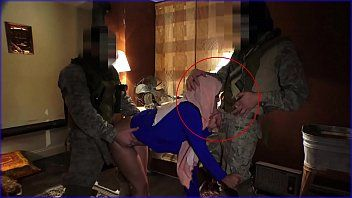Journey of arse - local working arab cutie entertains soldiers for some simple specie