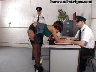 Yasmin thrashed in nylons