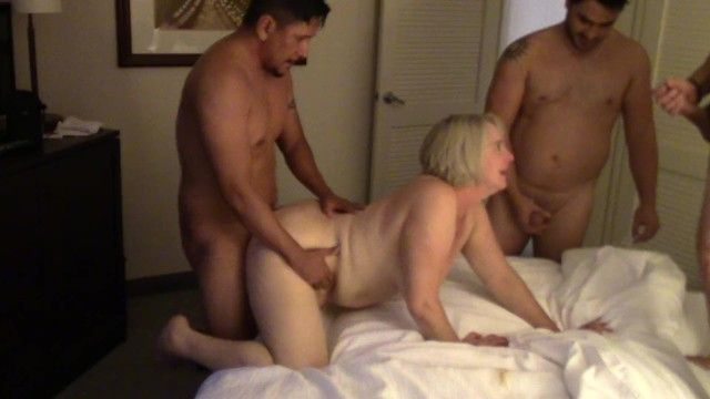 Latin gang group sex