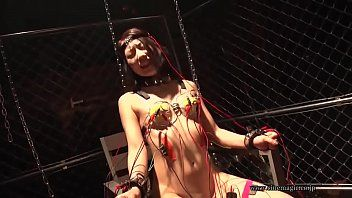 Electro castigation oriental gal japanese - 8
