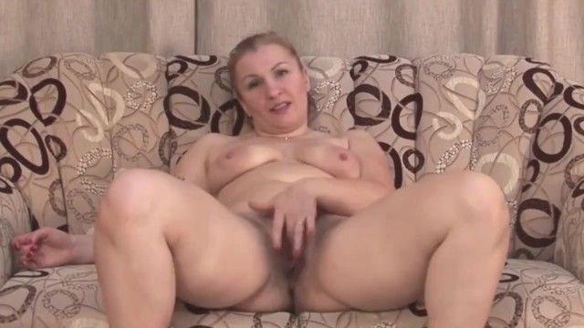 Dilettante mother with large a-hole and curly cum-hole