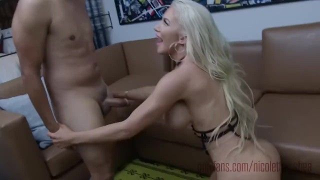 Nicolette shea chick gold receives creampied after a coarse banging