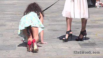 Public diminutivo Villein disonorato nel centro città
