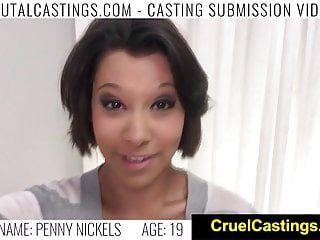 Fetishnetwork penny nickles real sm casting