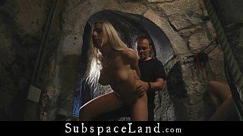 4 hotty slaves hard tormented in a dungeon castle