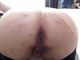 Holidays bdsm: thirty shots electrical wire on a-hole