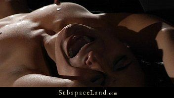 Romanian blond wench painful whipped and waxed in thraldom