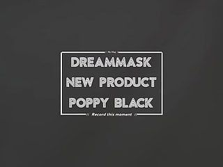 Dreammask m08b swarthy poppy with latex coating for hot angel