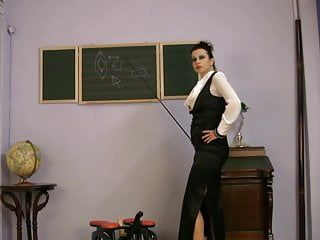 Breasty dressed milf sex teacher riding sex machine