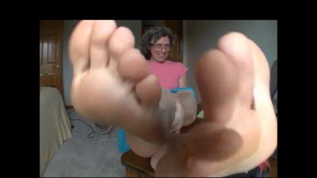 Hot grandma soles