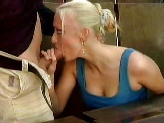 Massive ejaculation at the sex academy