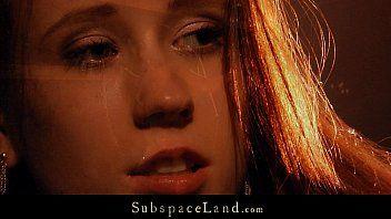 Redhead sinless sex villein hard punished by her taskmaster