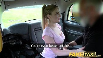 Fake taxi blue eyed scottish sweetheart cant live without coarse banging on back seat of taxi