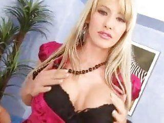 Natalli di angelo ebony nylons three-some