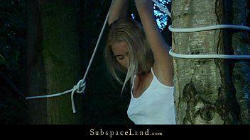 Lifestylish blond hard shivered and opressed