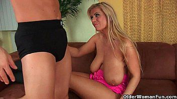 Gilf adele with her large love bubbles disrobes off and acquires pumped