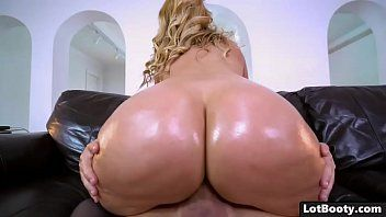 Blond milf with giant milk sacks and corpulent gazoo acquires pumped