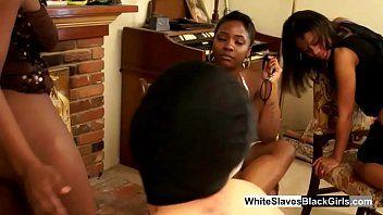 Slaves show love to their dominatrix-bitch