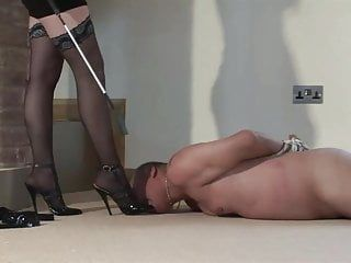 Dominated by three couple of sharp high heels
