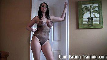 Ill make u into a cum eating sissy floozy