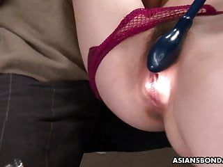 Aimi ichijo is a consummate sub for kinky males to play with