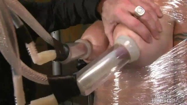 Wenona has her breastmilk fucked by a milking machine