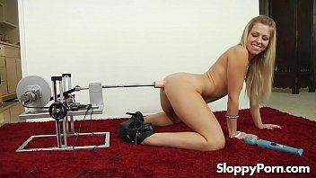 Solo anal bitch zoey monroe with a banging machine