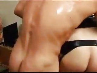 Hunk and woman copulates crossdressers jointly 03