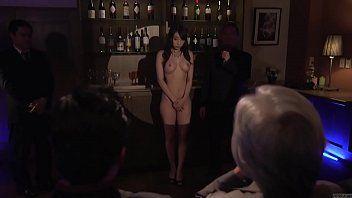 Subtitled japanese kurea hasumi wife serf auction stripping