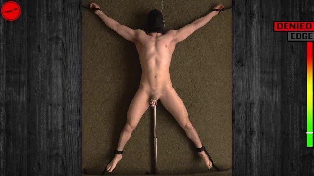 Bordatura e negazione: il pene finto della sonda anale stimola il suo trailer di stuzzicare la castità prostatica