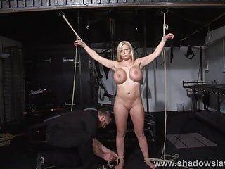 German slavegirl melanie moons electro sadomasochism and zapped