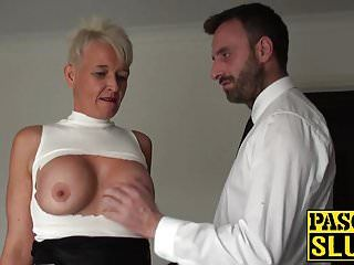 Sm and thraldom training for a sexually excited milf doxy in heat