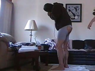 Wife fuck her lad with ding-dong anew