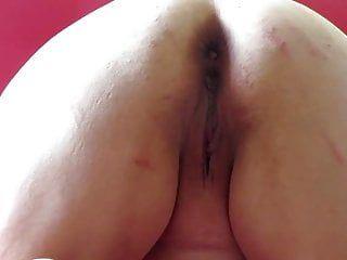 Session soft: slapping cum-hole and dilatation