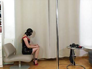 Bupshi - latex villein doxy fastened and pumped