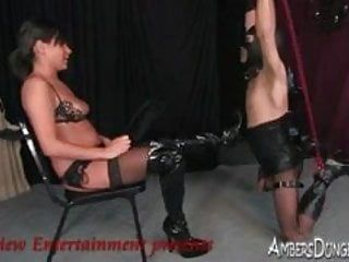 This babe loves to fuck when this chab is tied and in ache