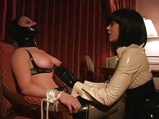 Lesbo sm latex breast engulf tit engulf lezdom