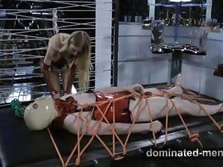 Dominated-men.com - face banging and 10-pounder slapping