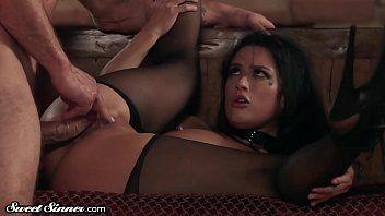 Sweetsinner katrina discovered her slavemaster and longs to be his serf