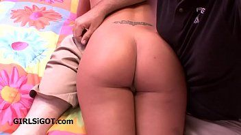 Mamma gives in and receives spanked over his knee