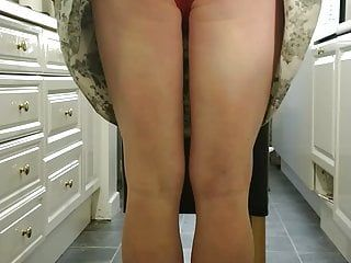 Sissy shirley receive spanked