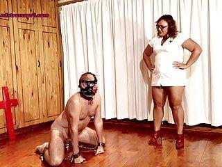 Female-dominator april - serf humiliation